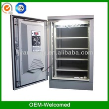 Kindle custom wall mount used aluminum modular outdoor cabinet/ box/enclosure/ip55