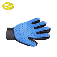 Hot sale eco-friendly cheapest five fingers pet brush glove