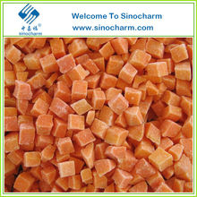 Frozen Bulk Carrot Diced/Sliced/Strip in Stock