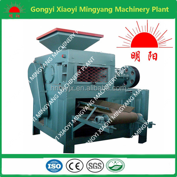 ISO 9001 With professional team service High efficient and high yield coal slurry briquette machine