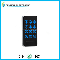 Combination electronic password type locker lock for hotels