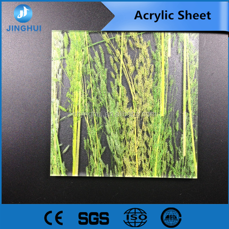 Light weight. 1020*1950mm Silver 20mm composite acrylic sheet for Lighting