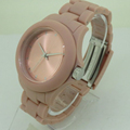 Fashion Japan Lady Plastic Girls Wrist Watch With Silicone