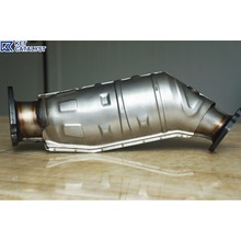 KET direct fit catalytic converter for gasoline and diesel engines high flow catalytic converter
