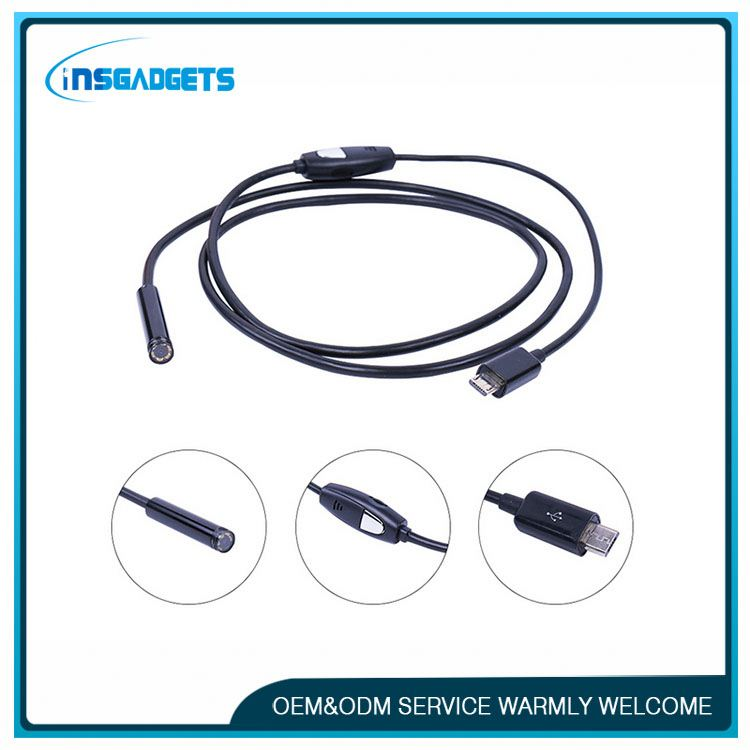 mini bluetooth camera PELF062 portable wifi endoscope camera
