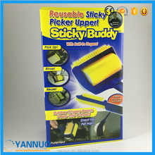 Sticky Buddy, Sticky Roller Gun Carpet Cleaning Brush As Seen On TV 2017