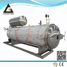 Water spray static sterilization retort autoclave suitable for glass bottle