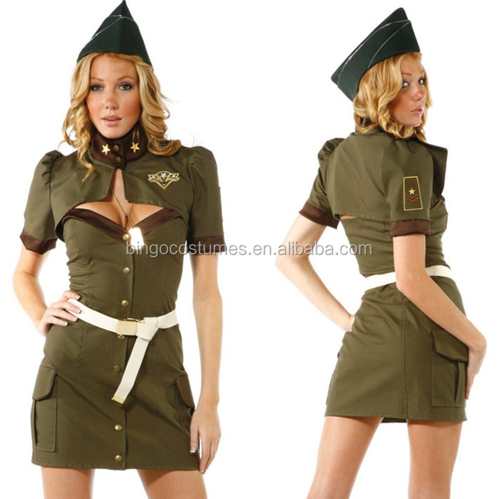 Sexy Police Dress Costume For Women Cosplay Spy Special Task Agent Army Hat Included Military Uniform Cosplay