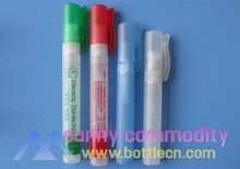 plastic tube, pen plastic atomizer bottle for kill germs and odors without water