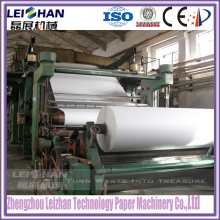 A4 paper production line newspaper recycled paper making machine