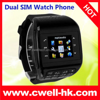 Q8 Dual SIM Wrist Mobile Watch Phones with Keyboard and Multi Colors