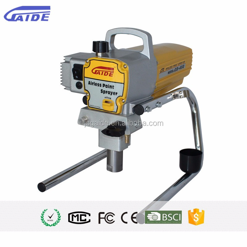 New design power tools paint machines pressure electric high quality airless paint sprayers repair from <strong>manufacturers</strong>