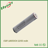 Hot sell 3.6v 2250mAh 18650 li-ion rechargeable battery cell for CGR18650CG
