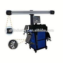 3D wheel alignment machine price in China, HD camera wheel alignment, supply garage equipments 3d wheel alignment/tire changer