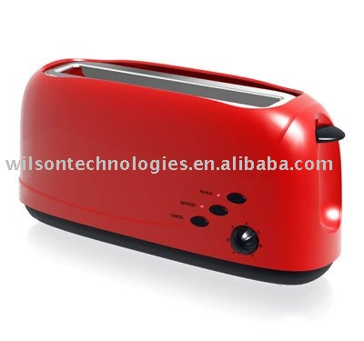 WST116 high quality 2 slice long slot toaster