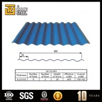 0.3mm PPGI galvanized aluminium corrugated roofing tile steel sheet