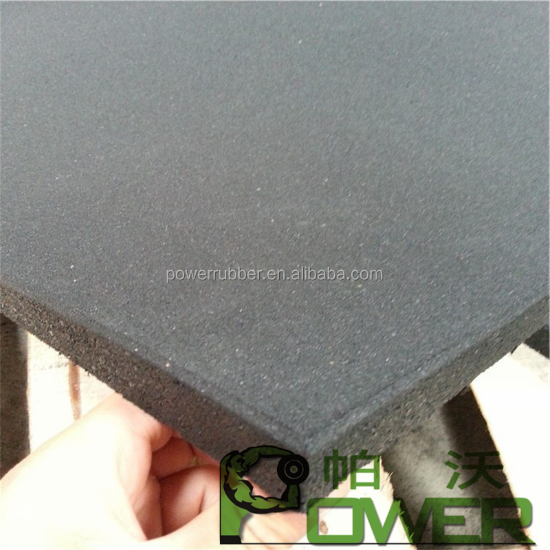 High density Cheap price outdoor play rubber mats