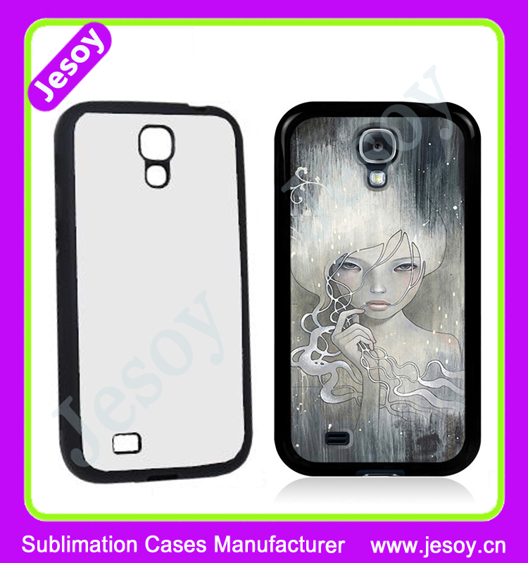 JESOY Sublimation Printing Plastic Mobile Phone Cover ,2D Heat Transfer Phone Case For Samsung Galaxy S4 Zoom