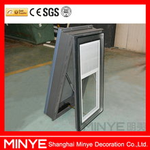 High quality nice design aluminum glass awning skylight roof window