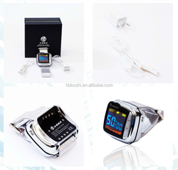 Clinical test low level laser therapy equipment treat diabetic blood pressure control watch