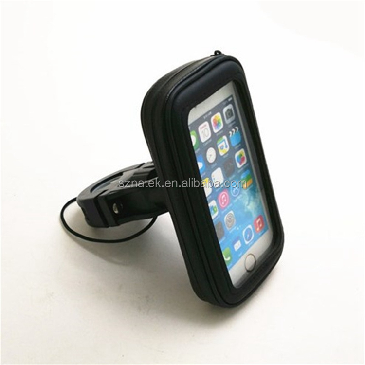 Universal Case Bicycle & Motorcycle Mount Cradle Holder Dust Rain Snow Resistant for Smart Phone