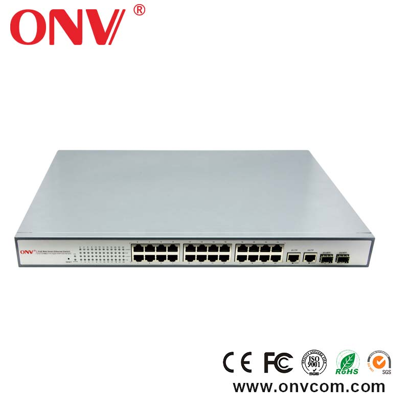 good quality 10/100M 24 port gigabit poe switch hot sales in russia east