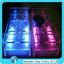 square led light wine glass gift boxes wholesale high quality for wedding