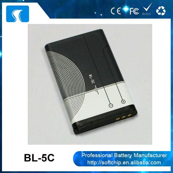 Yes rechargeable original mobile phone battery BL-5C for Nokia