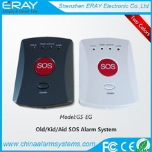 GSM Elderly Alarm Wireless Big Panic Button Emergency Calling System with SOS Alarm for Living Alone Parents