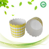 50pcs yellow Colorful Cupcake Paper Liners Muffin Pan Needed Cupcakes Papers