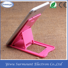 Colorful Foldable cell phone stand holder security mobile phone holder for desk