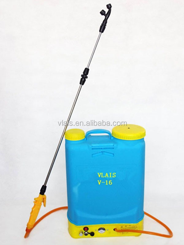 Vlais 2015 New PE Plastic Farm Tool 16L Electric Backpack Sprayer