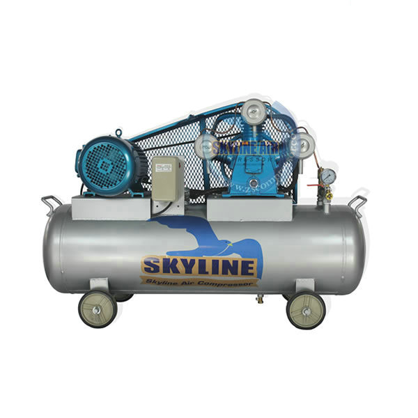 Portable Electric Piston Type Air Compressor With Tank