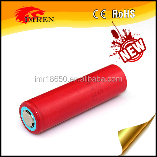 orange high Power 18650 rechargeable 18650 battery 2000mah for Zoom led flashlight