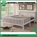 (W-B-0075) solid pine wood 4ft6 double bed