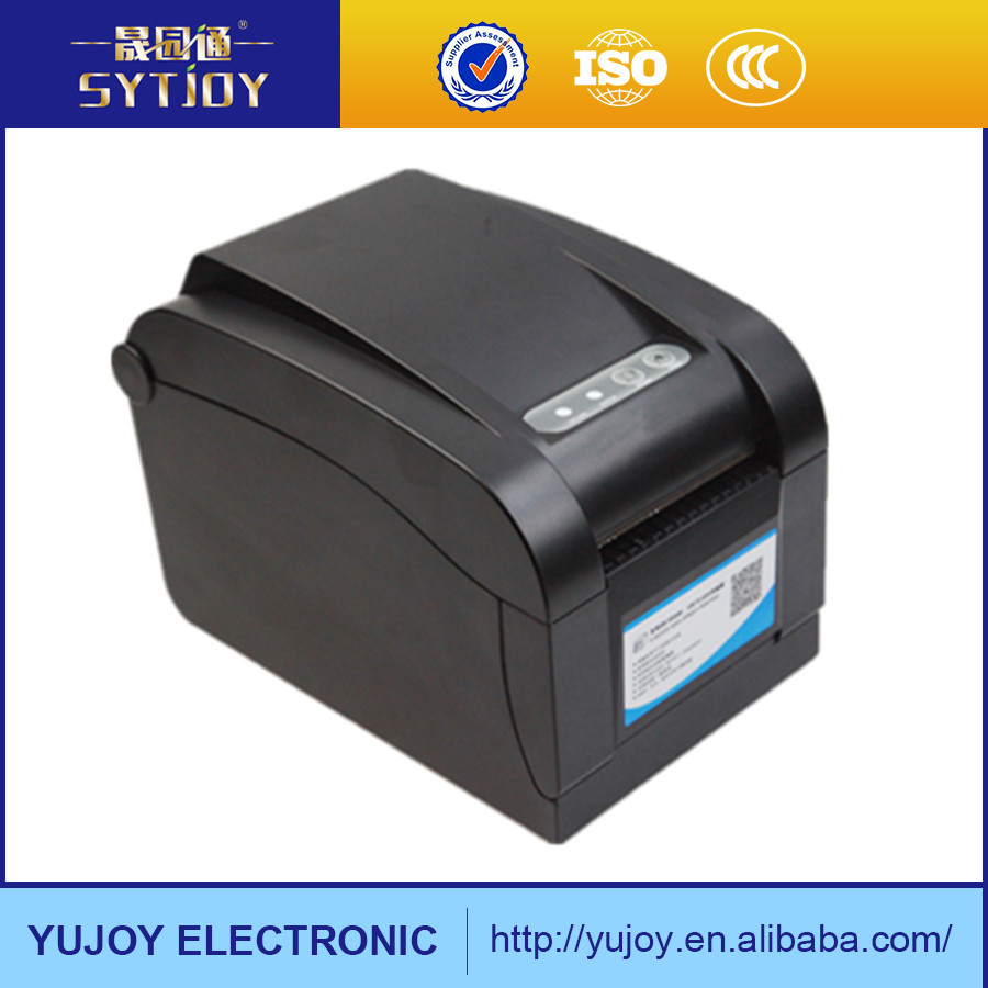Hot sales china supply USB barcode thermal printer