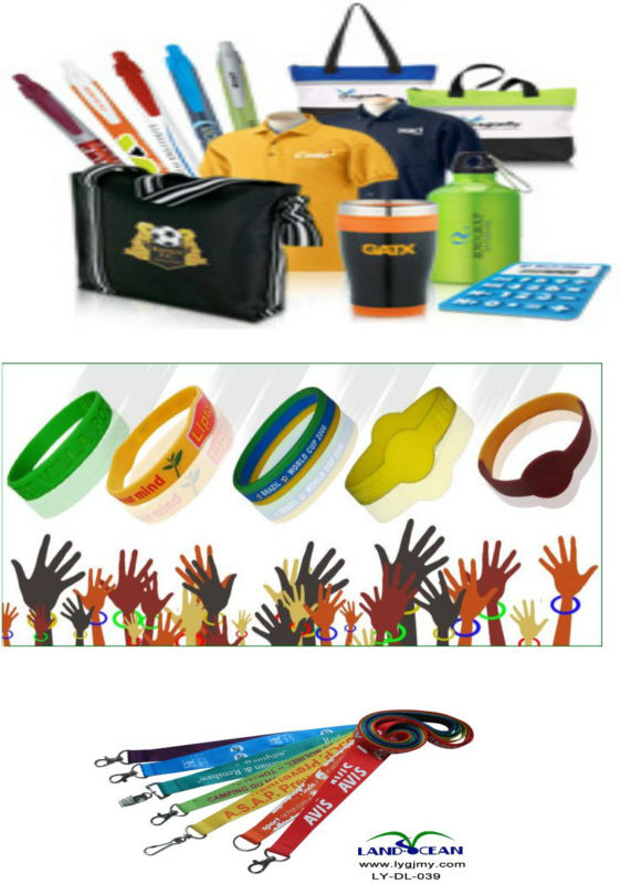 silicone wristband, lanyard and promotional items
