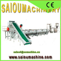 waste washing recycler plastic recycling granulator
