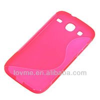 Soft Gel TPU Plastic Case Skin Cover for Samsung Galaxy Core I8260 I8262