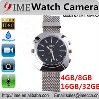 NEW product fashionable1080P IR Voice Actived S2 Wrist camera Watch Camera mini DVR hidden pinhole camera 4GB 8GB 16GB 32GB