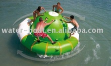 inflatable rotating top, inflatable saturn aqua water park game fun city on sale