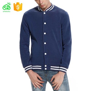 2018 Wholesale Men Baseball Collapsible Cotton Jacket