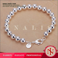 Handmade silver solid bead jewelry trends 2014 H126
