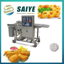 Popular Automatic Beef and Chicken Popcorn Battering Machine
