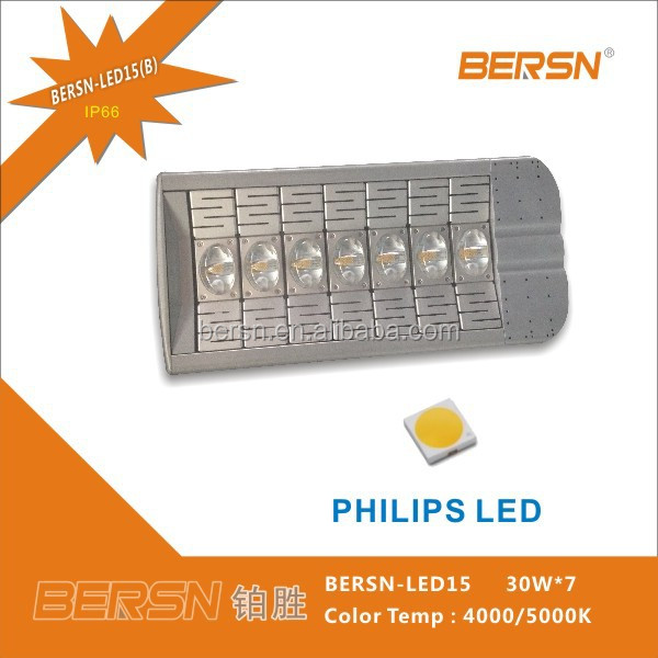 Popular High Lumen 100 LM/W 120w 150w 180w 210w LED Street Light For Replacement Project of HPS Metal Halide Halogen Lamp