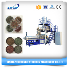 Twin Screw Extruder Floating Fish Feed Pellet Making Machine
