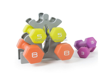 good quality chromed dumbbell set