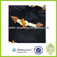 High quality Leather buttons with horn toggle/clasp for coat