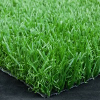 "pile height 30mm 3/8"" gauge PP PE artificial grass turf for football"