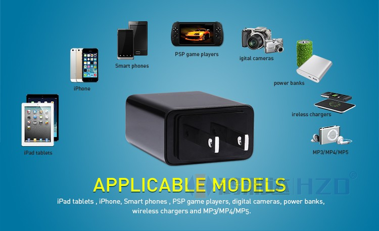 Nillkin Europe America and Asia Standards Power Adaptor travel chargers 5V/2A NK-040